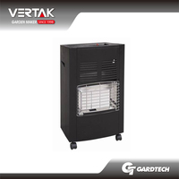 Front rank of garden tools supplier outdoor living room gas heater