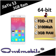 2015 new arrival 4G LTE mobile phone 3GB Ram Jiayu S3