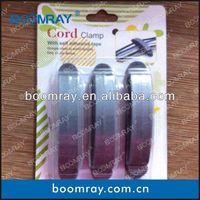 Factory 926 10pcs Cable Organizer Clip Cable Drop Clips Organizer plastic pipe clip 20mm