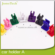 Hot sell car mount holder stand for e-cigarette 8 Colors for all mod atomizer/battery from Jomo