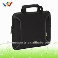 High quality Customized Black Neoprene Laptop Sleeve