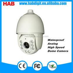 IC 8 LEDS Analog 1000TVL 18X optical zoom IR ptz camera outdoor over current protection