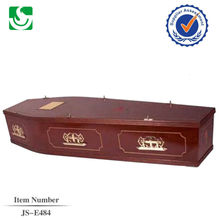 flat lid european style coffin from coffin manufacturers