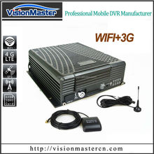 Provide oem service 8CH HDD H.264 MDVR with 3G/wifi/gps for car
