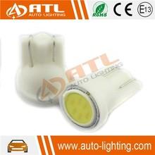 Hotest 0.6W car cob led t10, 12V auto t10 led bulbs, 40mA, 6500-7500K purple t10 led car bulb