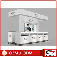 2013 fashion watch showroom design both side setting hot sale!