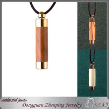 Perfumes And Fragrances Essential Oil Diffuser wooden Necklace