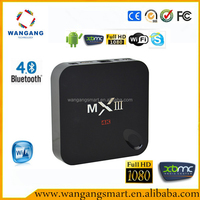 Hot Selling Android Tv Box 4KTv Amlogic S802 Smart Tv Box Kodi MX3/ MXIII 2g/8g Amlogic 802 Android Tv Box MX3 In Canada Market