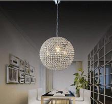 Globe shape vintage crystal chandeliers decoration ceiling light