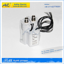 Aokai energy saving main circuit 500V 100A , coil 24V dc contactor relay for dc electric motors 24 volt