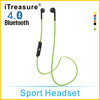 iTreasure New Sports Noise Cancelling Headphones Music Bluetooth Headphone Stereo Wireless Headphone for Cell Phone Tablet PC