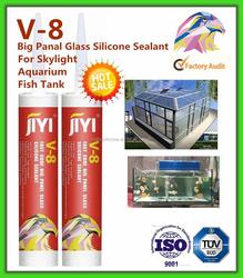 Translucent/transparent/clear silicone sealant/acetoxy cure silicone sealant