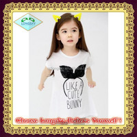 modern design and popular T-shirt for girl,girl garments,girl t-shirt with short sleeves