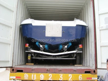Factory directly sale 400cm fiberglass speed boat for sale