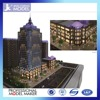 Imported architectural model materials for building plans models