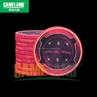 Casino Quality14g Ceramic Poker Chip Heartbeat Poker Chips