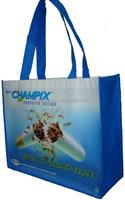 High Quality cheap green non woven promotional bag, green color non woven bags, green eco friendly non woven shopping bag