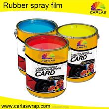 Carlas venta directa de la fábrica plasti aerosol dip pintura de caucho para coches