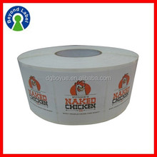 Custom Waterproof Adhesive Logo Printing Flexible Packaging Labels