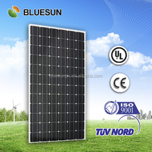 Bluesun cheap price 24v monocrystalline solar panels 300 watt