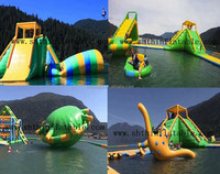 giant inflatable water park for 100+ people