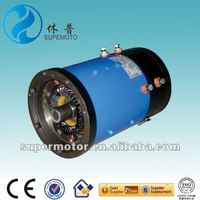 4kw 48v efficient electric car&sightseeing bus dc motor