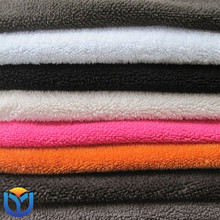 Weft Knitted 100% Polyester anti pilling Polar Fleece Fabric