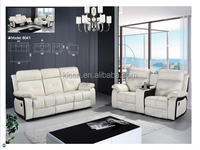 New designs leather berkline recliner sofa