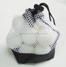 golf ball mesh bag drawstring Nylon