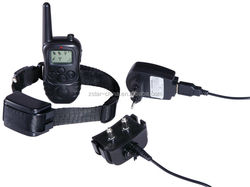 Remote range 1000m vibration and shock pet dog training waterproof & rechargeable