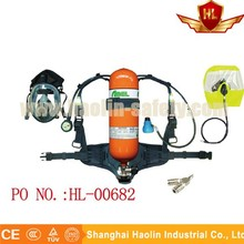 fire fighting equipment positive pressure air breathing apparatus