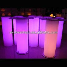 table waterproof lighting bar/high top bar tables
