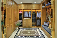 Modern bedroom set solid wood bedroom funiture customized wardrobe/cabinets/closet