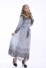 C321 Gorgeous printed chiffon muslim ABAYA