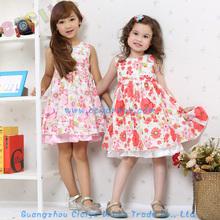 Beautiful baby girls frock designs cotton summer flower frocks for party baby girls frocks
