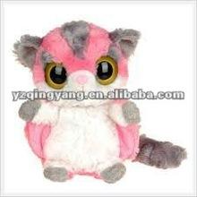 cute design plush stuffed animal toy with big eyes