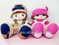 OEM Cute real mini love doll plush doll for kids