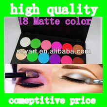 2013 hot Sale!Eyeshadow Palette 18 colors Professional Cosmetic 18 Matte Color Multicolor Eye Shadow Palette