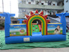 advertising promotion children play land inflatable jumping bouncer for sale