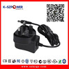 2015 k-04 ac /dc 100-240v 50/60hz switching 12Volt 800ma 9.6wac dc travel adapter plug power supply 9.6w for set top box