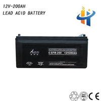 12V 200AH sealed lead acid battery deep cycle, volta battery for ups,long cycle life battery