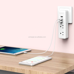 ORICO New product Mini 2A3U 15W 3 ports usb Wall Charger Multi port Travel Charger 4 ports Power Strip for Mobile Device