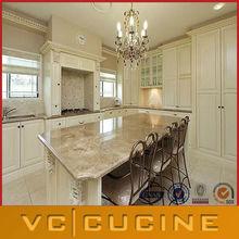 Modern luxury white shaker kitchen cabinets
