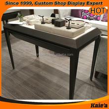 good looking design metal jewelry display table