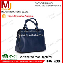 2015 Luxury PU leather handbag factory Cheap price Hand Bag for woman