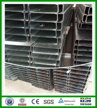 hot sale cold formed c channel steel astm a36