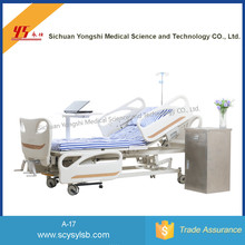 Factory price Three functions Steel folding Hospital Nursing Bed for patient