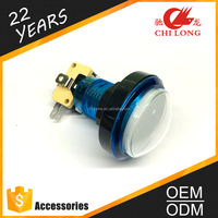 Easy to install 3A push button switch