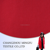 100% machine washable red woolen fabric, tweed suit wool fabric