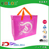 Eco-friendly pp non woven carry bag with zipper